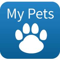 Clients can add pets for ease of use and to consult online